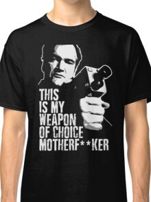 Quentin Tarantino - Weapon of Choice Classic T-Shirt
