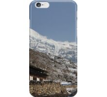 Jitchu Drake (Bhutan, 6,989m) iPhone Case/Skin