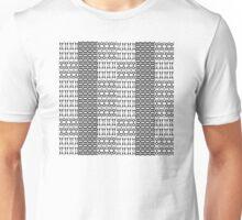 tissu noir et blanc Unisex T-Shirt