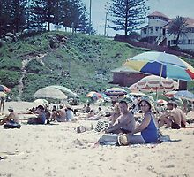 Greenmount Beach, Coolangatta, 1961 by Adrian Paul