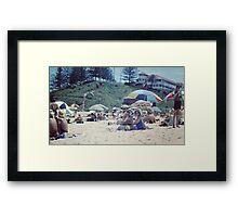 Greenmount Beach, Coolangatta, 1961 Framed Print