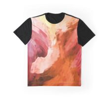 Abstract Canyon Graphic T-Shirt