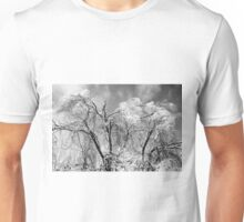trees wear winter Unisex T-Shirt