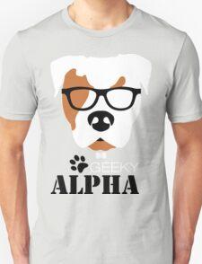 Geeky Alpha - Pitbull T-Shirt