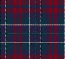 02705 Rockingham County, New Hampshire Fashion Tartan  by Detnecs2013