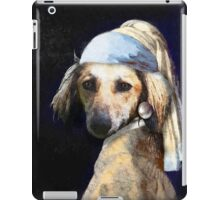 The Pooch with the Pearl Earring iPad Case/Skin
