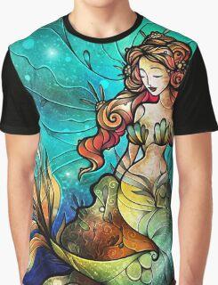The Serene Siren Graphic T-Shirt
