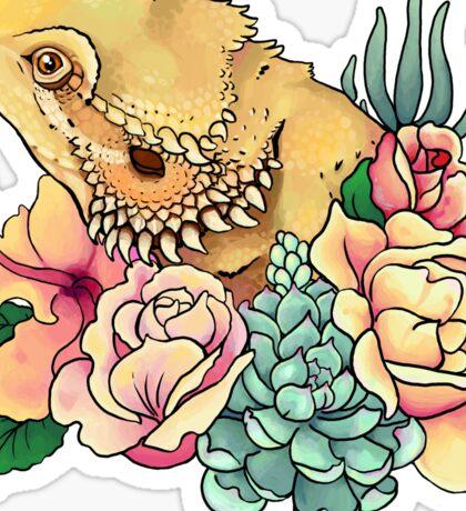 Pastel Bearded Dragon Sticker
