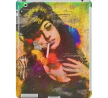 Dressed as Amy Winehouse For Halloween  iPad Case/Skin