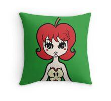 Apple Girl my Lolita Tequila Throw Pillow