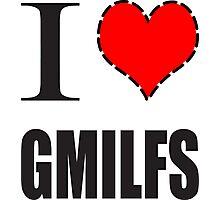 I Heart GMILFS Photographic Print