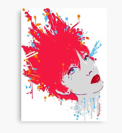 Faux Personality Canvas Print