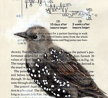 Starling Spots by paulapaints
