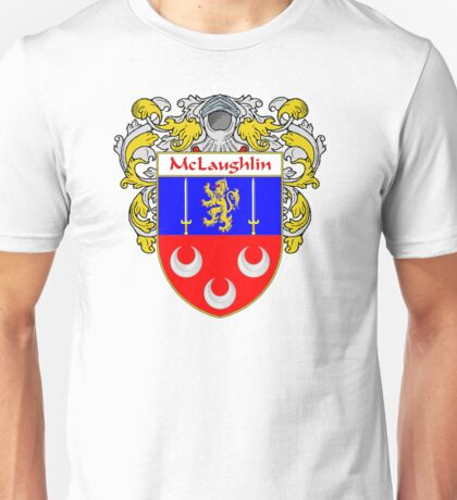 McLaughlin Coat of Arms/Family Crest Unisex T-Shirt