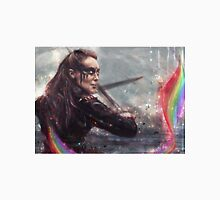 Warrior with rainbow cape Unisex T-Shirt