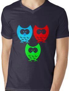 Cute Owls Mens V-Neck T-Shirt