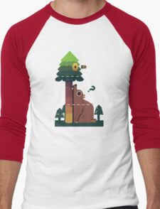 Bears and the Bees Men's Baseball ¾ T-Shirt