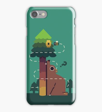 Bears and the Bees iPhone Case/Skin