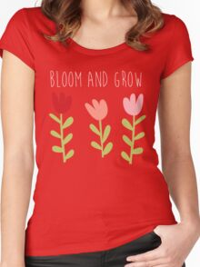 bloom and grow Women's Fitted Scoop T-Shirt