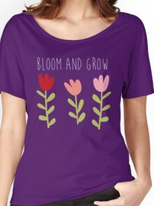 bloom and grow Women's Relaxed Fit T-Shirt