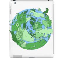 animals on earth iPad Case/Skin