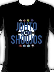 Johto Before Shoujos (White) T-Shirt