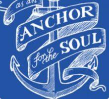 Christian Anchor Sticker