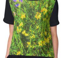summer meadow Chiffon Top