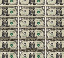 United States Dollar Bills by pjwuebker