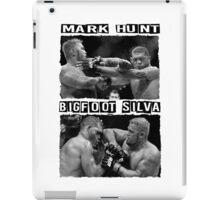 Mark Hunt Vs Bigfoot Silva iPad Case/Skin