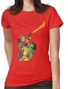 Man O Mars Womens Fitted T-Shirt