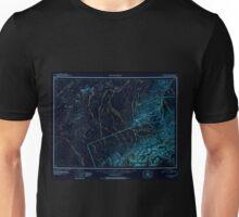 USGS TOPO Map Alaska AK Mount McKinley 361198 1952 250000 Inverted Unisex T-Shirt