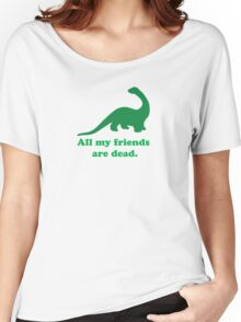 All My Friends Women's Relaxed Fit T-Shirt
