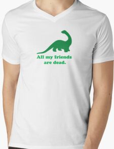 All My Friends Mens V-Neck T-Shirt