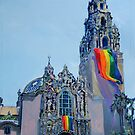 LGBTQ Gay Rainbow Flag flying RD Riccoboni by RDRiccoboni