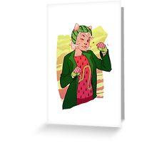 Trickster Nepeta Greeting Card