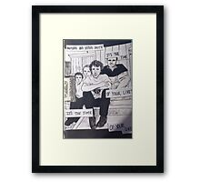 Brothers & Sisters Framed Print