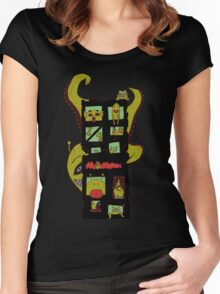 Monster Building by Lolita Tequila Women's Fitted Scoop T-Shirt