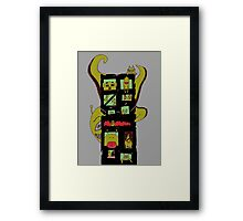 Monster Building by Lolita Tequila Framed Print