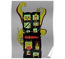 Monster Building by Lolita Tequila Poster