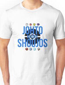 Johto Before Shoujos (Black) Unisex T-Shirt