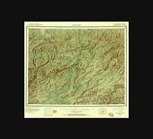 USGS TOPO Map Alaska AK Livengood 361104 1945 250000 Unisex T-Shirt