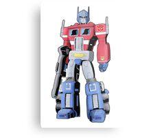 G1 Optimus Prime Metal Print
