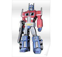 G1 Optimus Prime Poster