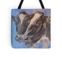 Chin Wag - Holstein Cattle Tote Bag