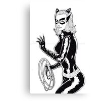 1960s Catwoman Canvas Print