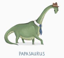 Papasaurus Kids Tee