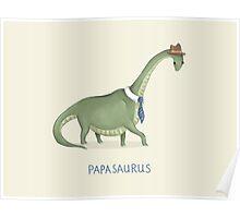 Papasaurus Poster