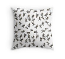 Swarm of Flies Throw Pillow