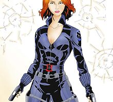 Black Widow by steelhaven